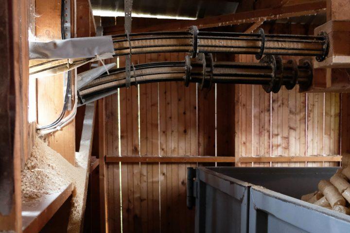 Hållbarhet - Ytterpaneler, konstruktionsvirke, råspontsluckor och takstolar.