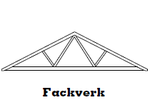 Fackverk - Takstolar, vindskivor och ytterpanel i Göteborg.