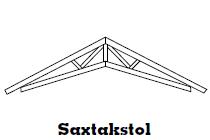Saxtakstol - Takstolar, vindskivor och ytterpanel i Göteborg.